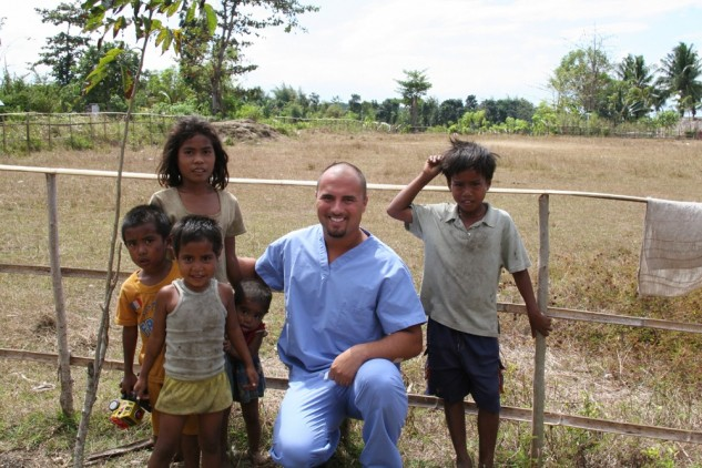 Dr. Boehne and friends, Indonesia